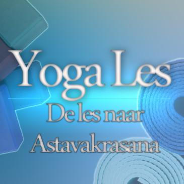 De les naar Astavakrasana