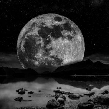 Volle Maan | Sneeuwmaan